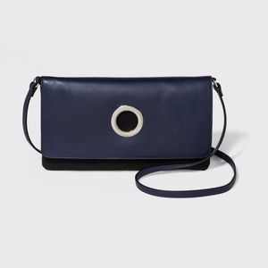 Flat Fold-Over Clutch With Flap Ring - A New Day